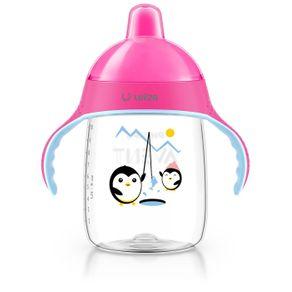 copo-pinguim-340ml-rosa---personalizado