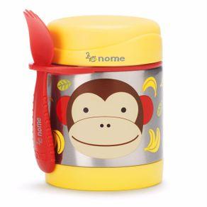 Pote-Termico-Zoo-Macaco-Skip-Hop---Personalizado
