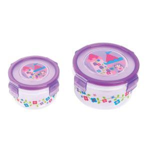 Conjunto-2-Potes-de-Plastico-Princesa---Stephen-Joseph---Nao-Personalizado---Imagem-1