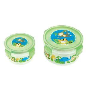 Conjunto-2-Potes-de-Plastico-Zoo---Stephen-Joseph---Nao-Personalizado---Imagem-1