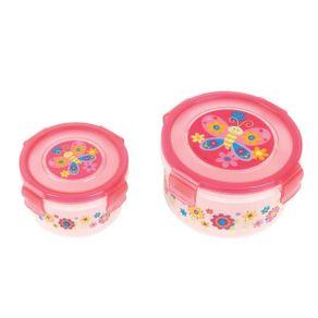 Conjunto-2-Potes-de-Plastico-Borboleta---Stephen-Joseph---Nao-Personalizado---Imagem-1