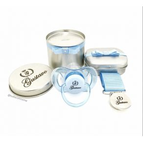 Kit-Chupeta-Avent-RN-0-2-meses---com-Prendedor-clips-prata-e-fita-lisa---Azul-Bebe