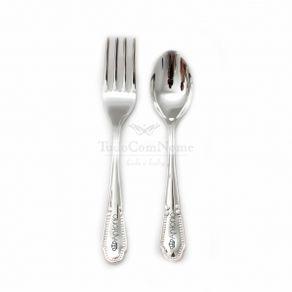 Conjunto-talheres-Liso-em-prata-personalizados-TudoComNome