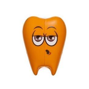 Suporte-e-Protetor-para-Escova-dental-Flipper---Laranja----Imagem-1