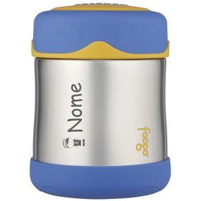 Pote-Termico-Thermos-Foogo-290ml---Azul-com-Amarelo--2-