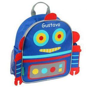 Mochila-Infantil---Robo---Personalizada-com-nome