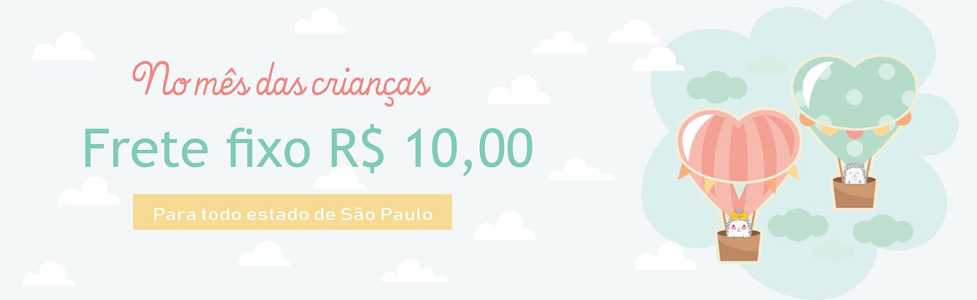 Banner frete 10 reais
